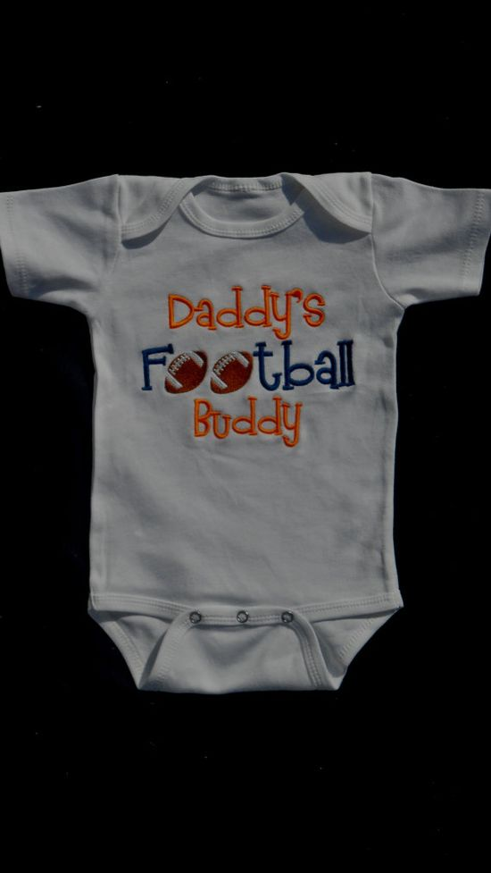 Baby Boy Clothes Football. I need this for Liam and Kody.