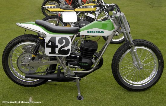 1977 Ossa 250 ST1 Short Tracker