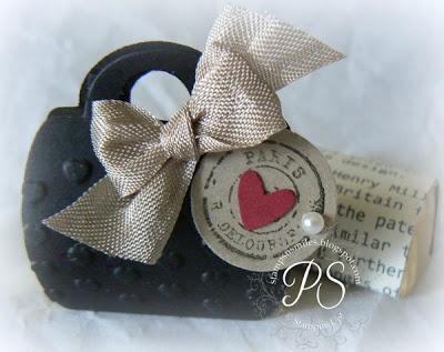 A miniature Paris purse!  stampsnsmiles.blo...