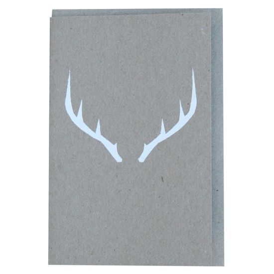 Antlers greeting card - hardtofind.