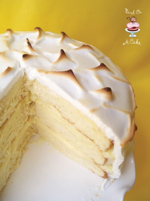 Bird On A Cake: Lemon Meringue Cake