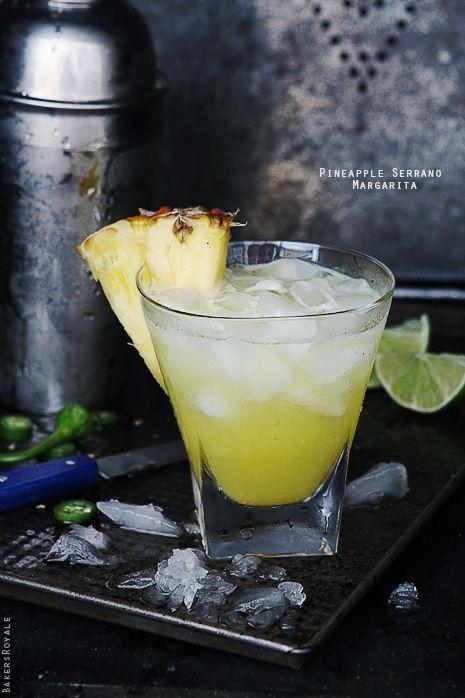 Pineapple Serrano Margarita