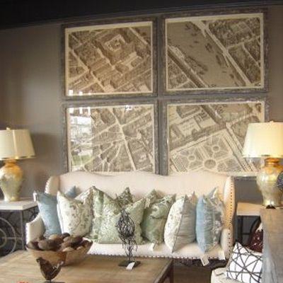 Maps & Prints - for Interior Design and Decor