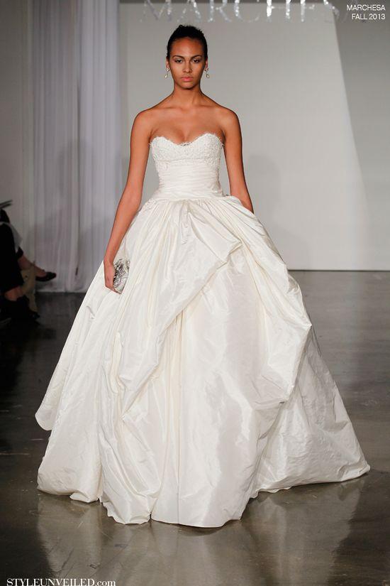 Marchesa Fall 2013 Wedding Dress Collection