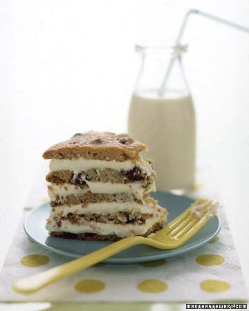 Giant Chocolate Chip Cookie Cake - Martha Stewart Recipes