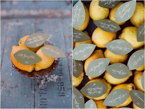 Placing Lemons