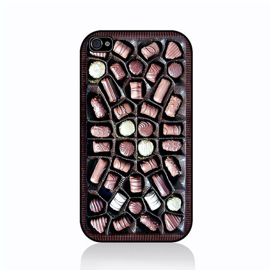 Chocolate Box - iPhone 4 Case, iPhone 4s Case, iPhone 4 Hard Case, iPhone Case. $15.99, via Etsy.