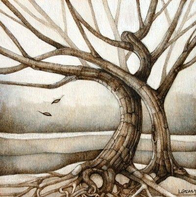 Beautiful tree art