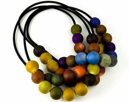 Ana Hagopian's paper jewelry