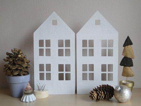 Handmade houses by vikitoys
