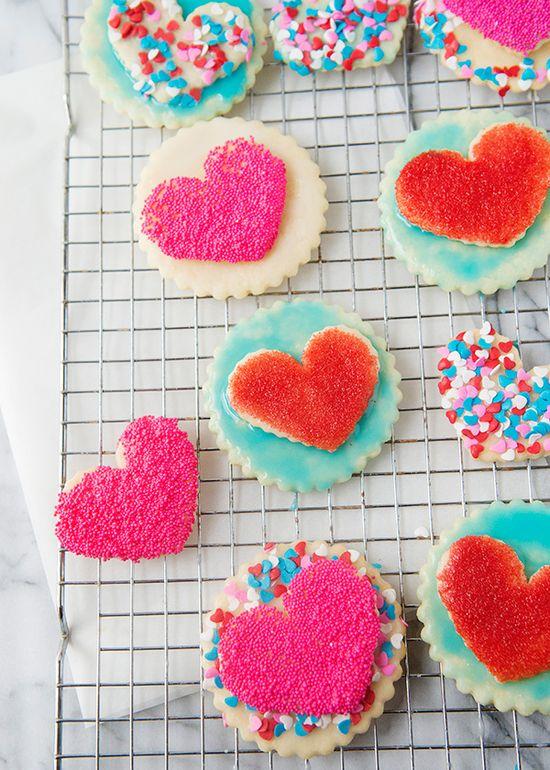 double heart cookies recipe