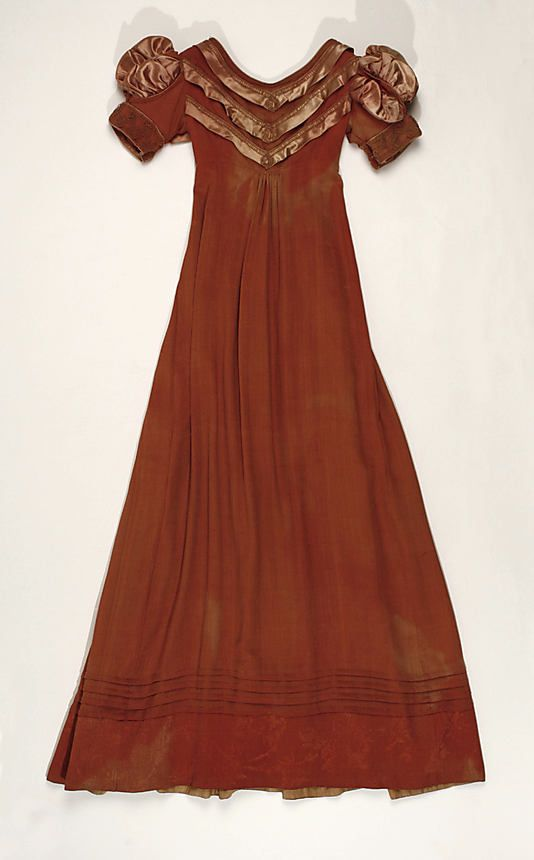 Dress - ca. 1818 - American - silk - MET