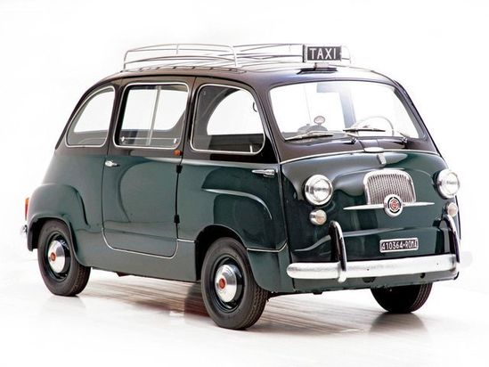 Fiat 600 Multipla ..........Too freakin' cool!