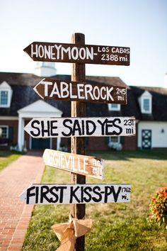 Wedding idea.     Repin by Inweddingdress.com