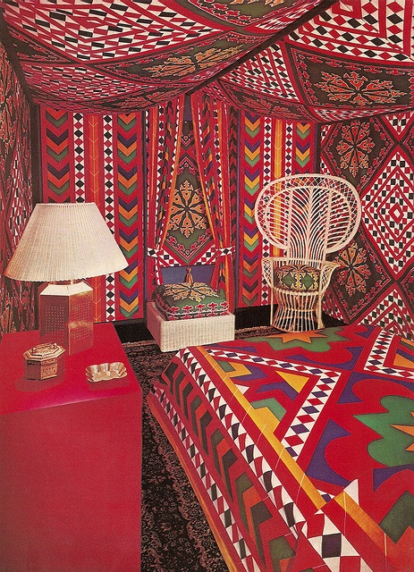 how to turn your bedroom into exotic tent