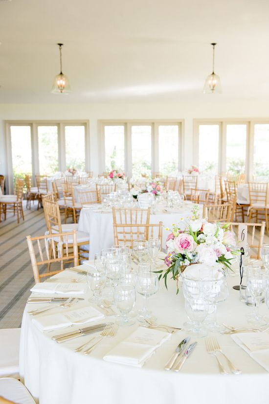 Sweet and simple, yet oh so pretty! #reception