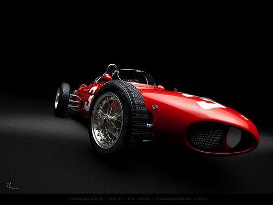 Ferrari Dino 156 F1 #3 Trips / Nürburgring 1961