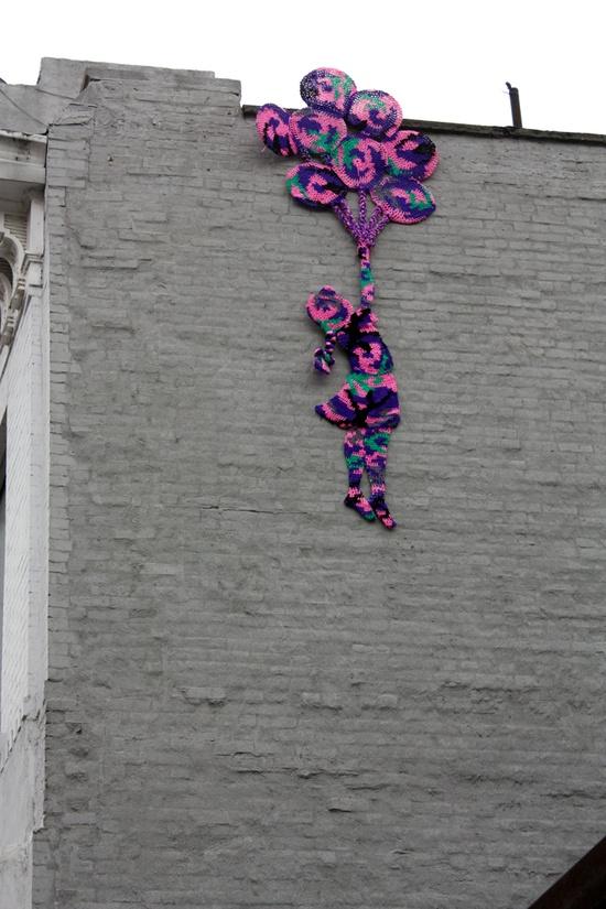 lovely yarn graffiti