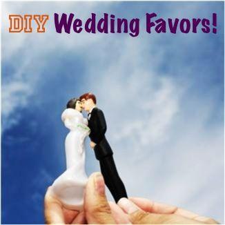 33 Creative DIY Wedding Favors! ~ at TheFrugalGirls.com #weddings
