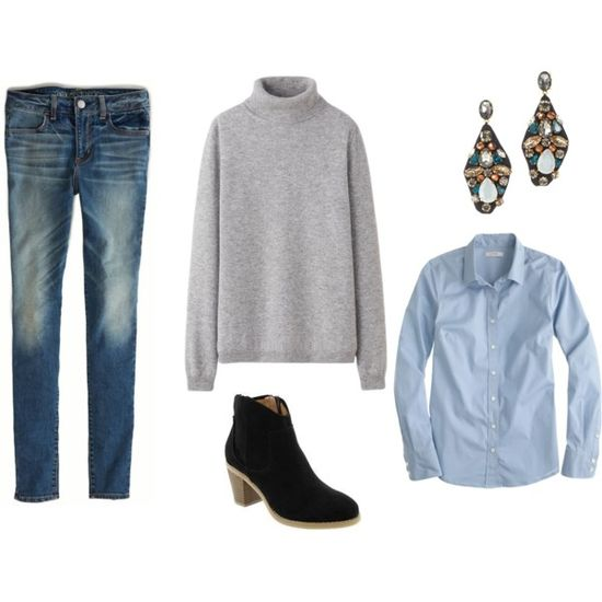 """Casual Work Outfit"" by briannelee on Polyvore"