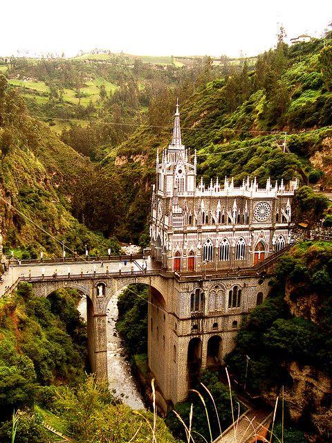 Santuario de las Lajas, Guaitara River, Colombia