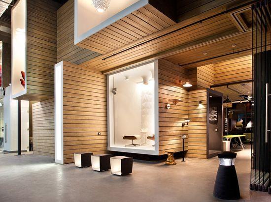 DK office & showroom by Megabudka, Moscow