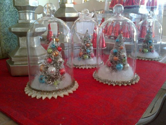 Penney & Co Vintage Style Globed Trees