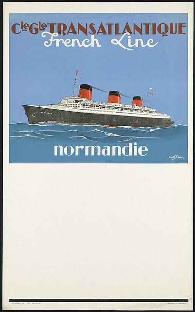 Normandie by Boston Public Library, via Flickr