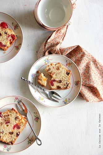 teatime006  english fruits cake & darjeeling tea