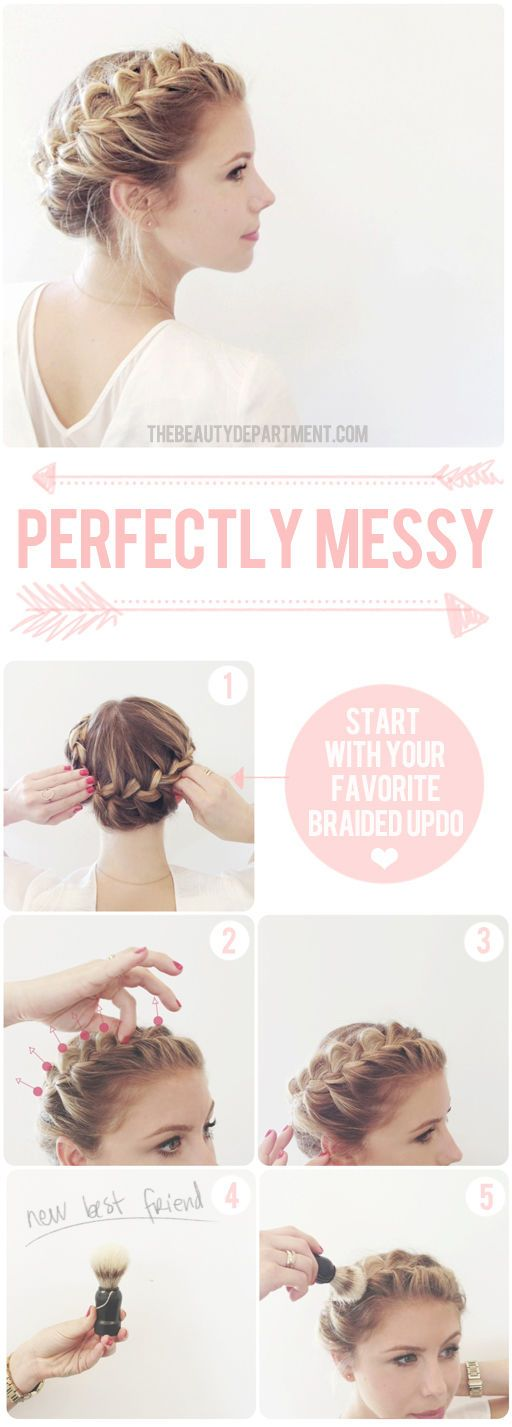 Here's the tool we use to make perfectly messy braids. Click the photo for the full scoop and a link on where to get it.