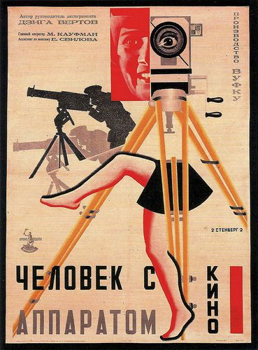 Georgii And Vladimir SternbergPoster for MAN WITH A MOVIE CAMERA (1929)(by arthurvankruining)