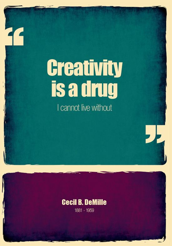 Creativity....for sure something I cannot live without#  #quote #creativity #art