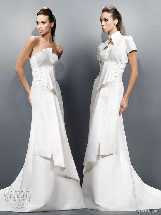 Jesus Peiro Wedding Dresses 2011 Collection  #weddingdress #weddinggown #wedding