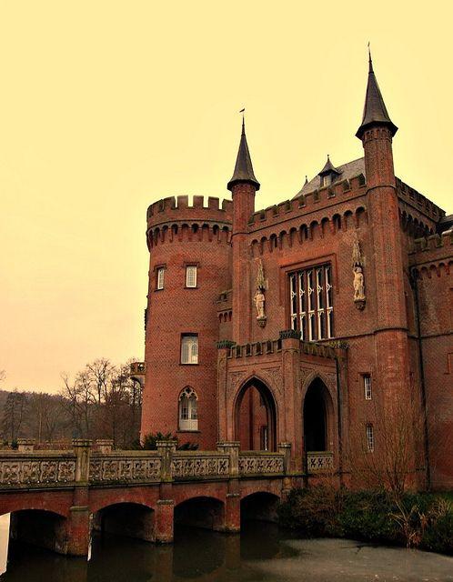 moyland castle, bedburg-hau, germany, via Flickr.