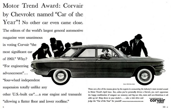 1960 ... car of the year