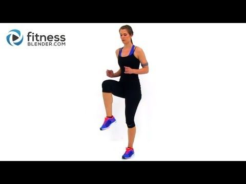 ? Fat Burning Cardio Workout - 37 Minute Fitness Blender Cardio Workout at Home - YouTube