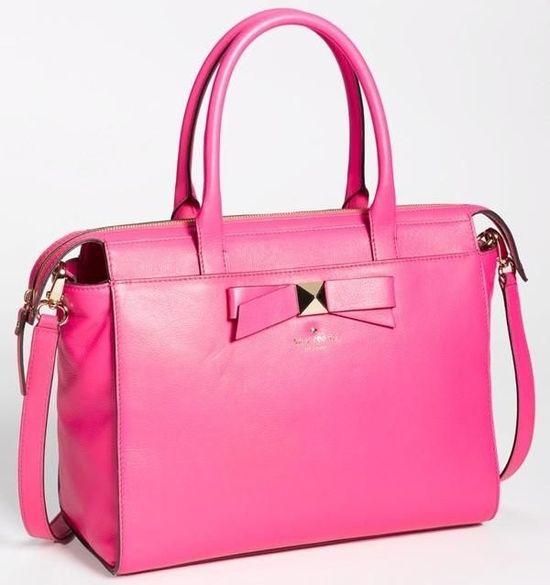 Hot pink Kate Spade handbag!