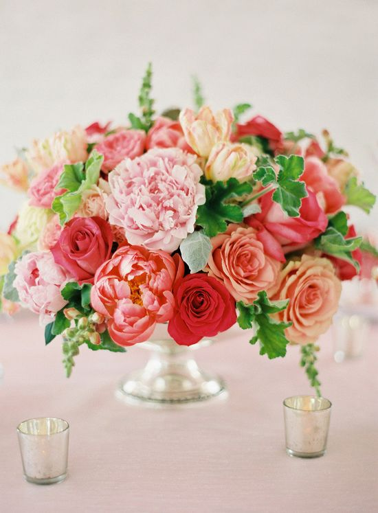 Pink baby shower florals. Event Design & Planning by Karson Butler Events