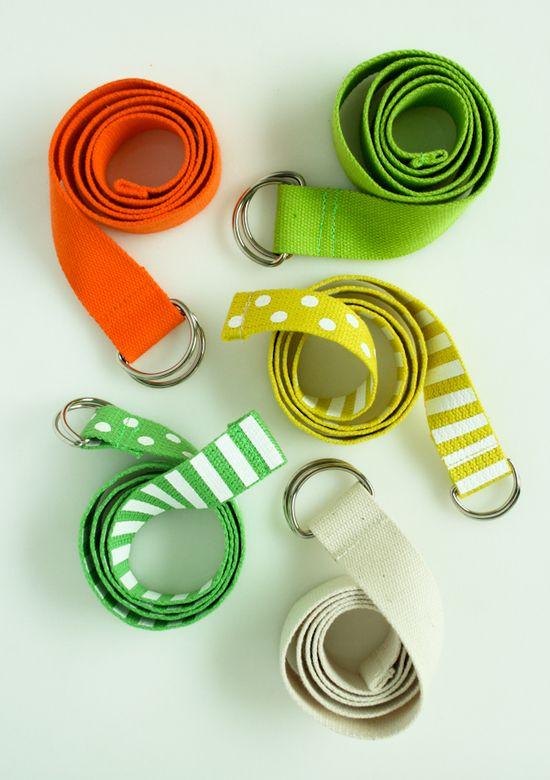 DIY: D-ringbelts