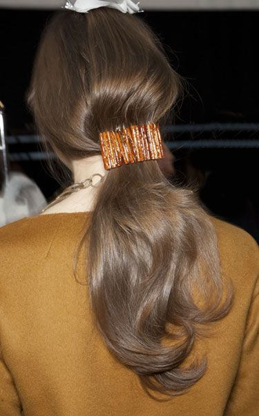 Fall 2012 Hair Trends - Best Hair Trends for Fall 2012 - Harper's BAZAAR- EXCEPTIONAL EXTRAS!