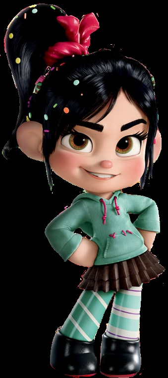 Vanellope Von Schweets from Wreck It Ralph.