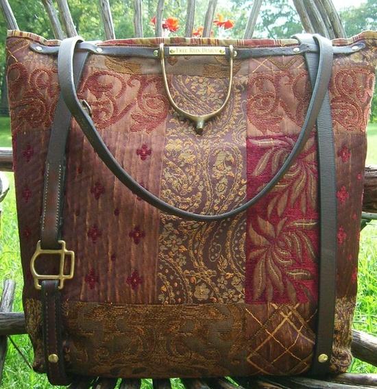 equestrian purse