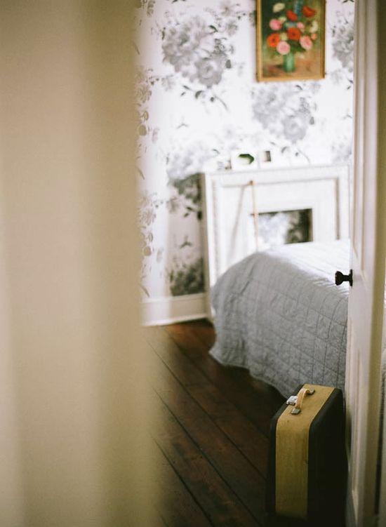the home interiors of designer Lisa Levis - bedroom