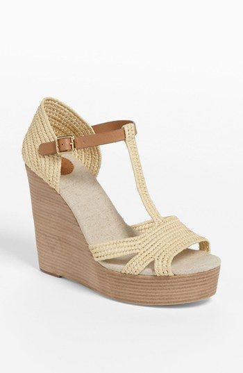 This sandal screams summer! Tory Burch 'Carina' Wedge