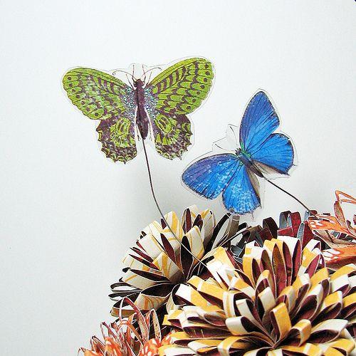 Fall Flower arrangement and Tutorial