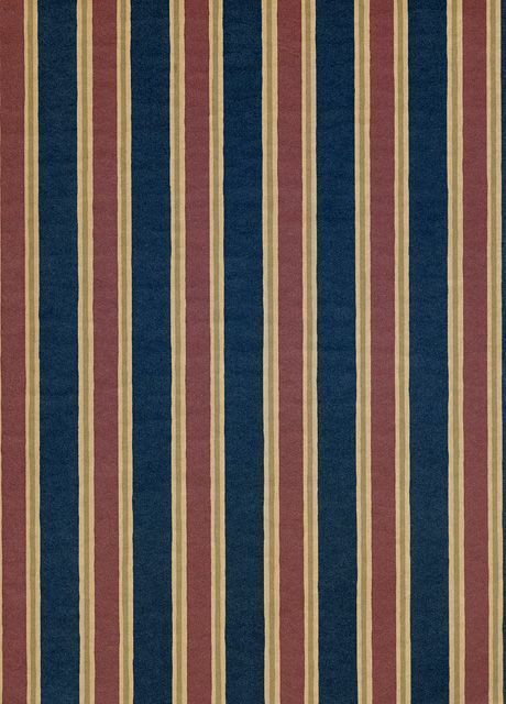 Clarence House Wallpaper Henley Stripe-Navy $172.99 price per roll #interiors #decor