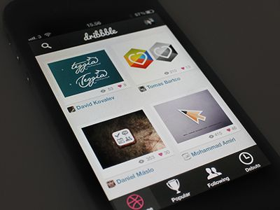 Dribbble for iPhone