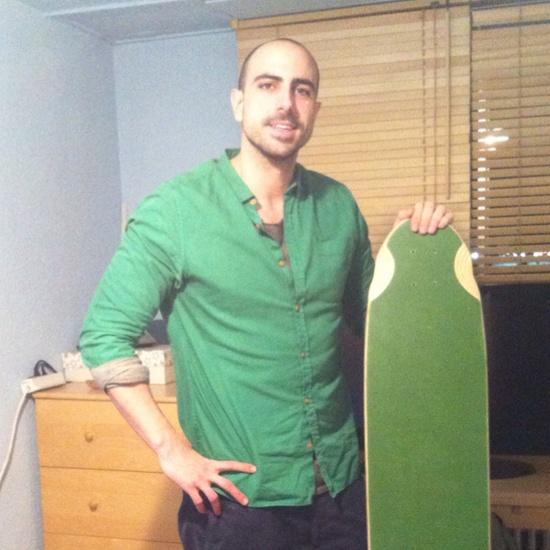 Primer prototipo longboard handmade