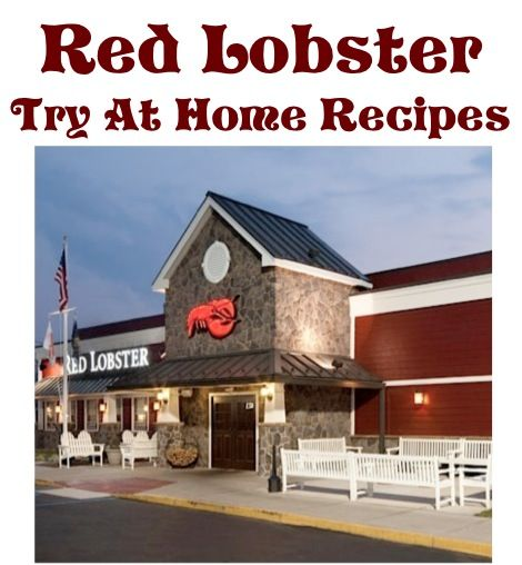 39 Red Lobster Copycat Recipes to try at home!  #redlobster #recipes