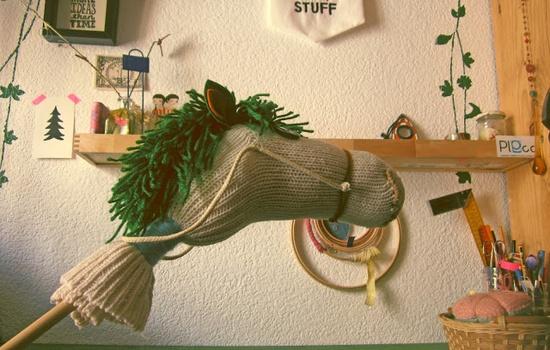 #DIY Un caballo de juguete, ¿puede ser más mono?